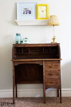 Just recently purchased a solid oak roll top desk and now I am going to attempt to refinish it and stain it a darker wood.