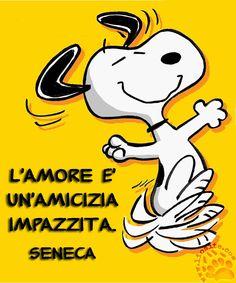 Non siete d'accordo? E comunque, se lo diceva Seneca, possiamo fidarci ;) L'amore è un'amicizia impazzita. Seneca #seneca, #amore, #amicizia, #pazzia, #italiano, #graphtag,