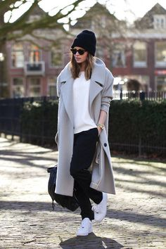 .Need along coat, a beanie hat. ok, Air force 1 as well.. :)