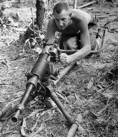 Captured Jap MG