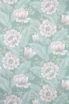 This roll of wallpaper is an authentic, old stock roll from the It is priced by the double roll. Of Wallpaper, Pattern Wallpaper, Wallpaper Backgrounds, Vintage Wallpaper Patterns, Textile Pattern Design, Textile Patterns, Print Patterns, Background Vintage, Background Patterns