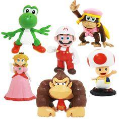 Super Mario Mini Figure Collection Serie 3 6 Pack - Goldie
