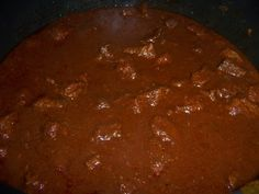 Authentic Mexican Style Chili Colorado (Beef Chunks In Red Sauce) Authentic Chili Colorado Mexican Menu, Mexican Cooking, Mexican Style, Mexican Dishes, Mexican Food Recipes, Chilli Recipes, Drink Recipes, Beef Recipes, Recipies