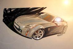 Nissan+350Z+Marker+Drawing+by+auto-concept.deviantart.com+on+@deviantART