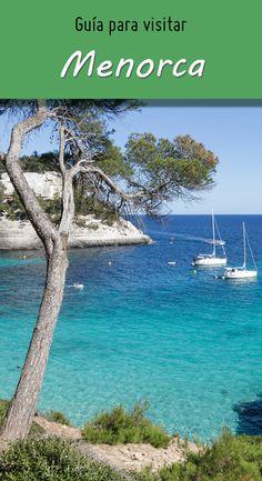 Qué ver y qué hacer en Menorca Best Beaches In Europe, Mediterranean Sea, Ocean Life, Travel Goals, Beautiful Gardens, Travel Inspiration, Workout, Spain, Places To Visit