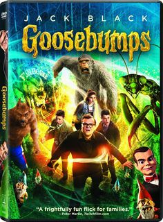 Goosebumps (DVD + UltraViolet + Limited eBook Offer)