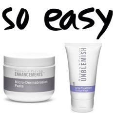 Defeating blackheads can be SO EASY! Rodan+Fields Micro-Dermabrasion Paste followed by UNBLEMISH Sulfur Wash. R+F products are AMAZING! They give GREAT results!  https://sjanssen.myrandf.com