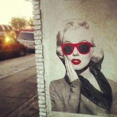 #MarilynMonroe art in L.A.