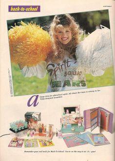 Teen Magazine September 1990 Advertorial 80s And 90s Fashion, Teen Fashion, Retro Fashion, Toy Labels, 15 Year Old Boy, Retro Makeup, Retro Advertising, 90s Kids, Vintage Magazines