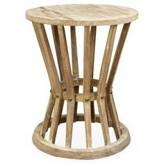Check out this item at One Kings Lane! Ali Rustic Side Table, Natural