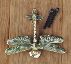 Solid Brass Dragonfly Door Knocker – antique & vintage style dragon fly knockers | eBay