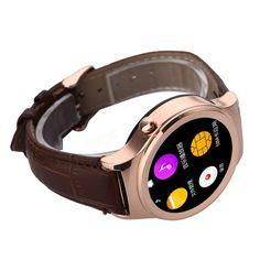 NO.1 S3 1.22-inch MT2502 64MB RAM 128MB ROM Heart Rare Monitor Sleep Monitor 2G Smart Watch Phone Sale-Banggood.com
