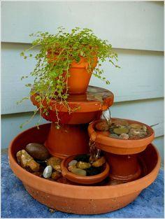 10 Waterfall Fountain Ideas to Adorn Your Garden