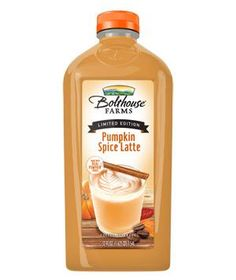 Bolthouse Farms Pumpkin Spice Latte: A new witches' brew: creamy pumpkin with a dash of coffee. It's the perfect seasonal sip during jack-o-lantern carving or trick or treating. (And it just happens to be gluten-free.)