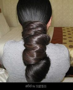 I'm going to try this with my hair. Love it!