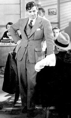 Clark Gable ~ It Happened One Night, 1934