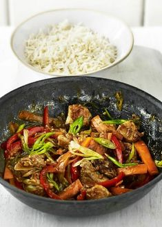 Low FODMAP Recipe and Gluten Free Recipe - Braised pork belly with Thai basil & tofu www.ibs-health.co...
