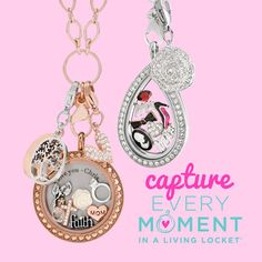 Cherish milestones and moments by keeping them close to your heart in a Living Locket®