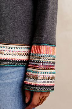 Wanderlust Embellished Tunic - anthropologie.com
