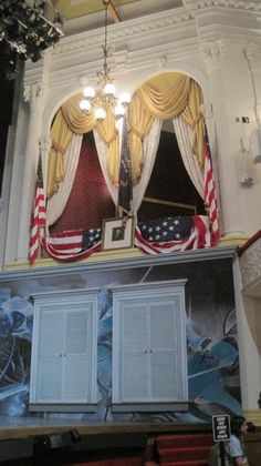 Ford's Theatre, site of assassination of President Lincoln  http://greathall.com/products/lincoln.html