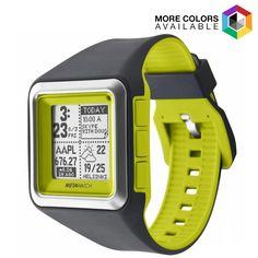MetaWatch Strata Stealth Smart Watch  - $34.99. https://www.tanga.com/deals/3db837ae5e44/metawatch-strata-stealth-smart-watch
