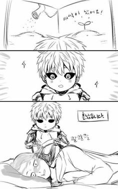 Genos is such a cutie lol