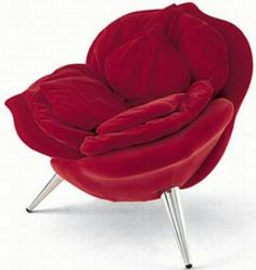 Rose chair | rose | flower chair | chair flower | flowery chair | flower inspired chair | chair inspired | design chair | design flower chair