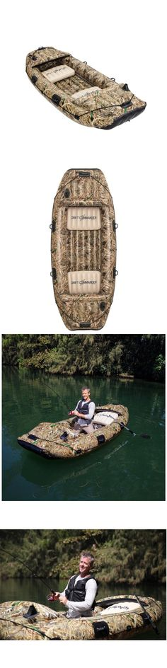 Float Tubes 179995: 10Ft 3 Person Camo Inflatable Fishing Boat Camouflage River Raft Lake Dinghy -> BUY IT NOW ONLY: $189 on eBay!