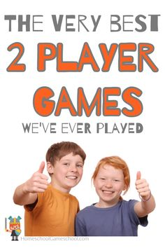 Frankly, some 2 player game variations stink, but you're not going to find those here. What you will find is our very favorite 2 player games. Games To Play With Kids, Board Games For Kids, Games For Teens, Kids Fun, Family Game Night, Family Games, Fun Games, Fun Activities, School Academy