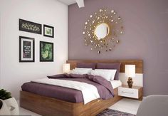 Colors for the living room 2018 Bright purple - Dr Homes - Colors for the livin. - Decor Photos and ideas - Indian Living Rooms Beige Living Room Walls, Bedroom Design Styles, Room Wall Colors, Colour Combinations Interior, Living Room Paint, Bedroom Wall Colors, Hall Colour, Wall Color Combination, Indian Living Rooms
