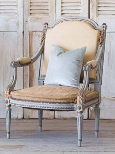 ELOQUENCE® is the premier source for French and European- inspired, handcrafted re-editions and genuine antiques. Decor, Inspiration, Chair, Furniture, Accent Chairs, Home Decor, Swedish Furniture