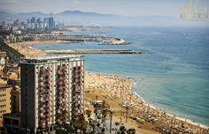 Barceloneta Beach Barcelona Spain Photo / by AshleyGreenPhoto