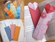 Top 5 Creative Bookmark • MY DIY CHAT • DIY Projects, Crafts, Gifts and More!