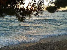 Sun goes down in Podgora