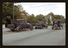 Another Michael Paul Smith photograph. These are scale model cars but if you didn't know it, you wouldn't be able to tell. Absolutely marvelous! North Main Street - Elgin Park [circa 1930's ] | Flickr - Photo Sharing!