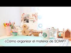 Scraproom Organiza el material de Scrapbooking - YouTube