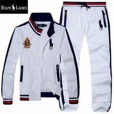 Polo Ralph Lauren Men's Tracksuit White