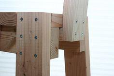 2x4 stool back detail