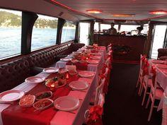 Having a dinner at Su Yachts, enjoy!  www.suyat.com.tr