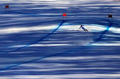Image: Italy's Peter Fill takes part in a Men's Alpine Skiing Downhill training session