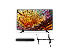 "Pantalla 49"" LED Smart TV Full HD + Blu-ray + Soporte de Pared   Bistabuh"