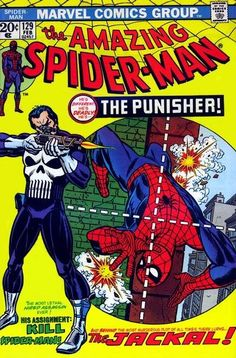 THE AMAZING SPIDER-MAN #129  MARVEL COMICS GROUP  FEBRUARY 1974  $.20    1st Appearance of The Punisher