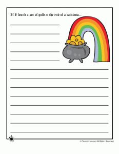 Finding a Pot of Gold Story Starter
