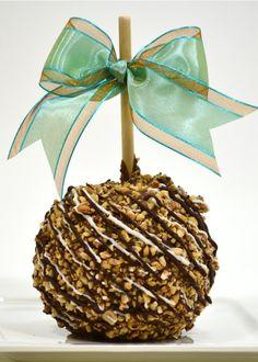 Chocolate Peanut Caramel Apple,