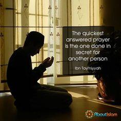 The quickest prayer!