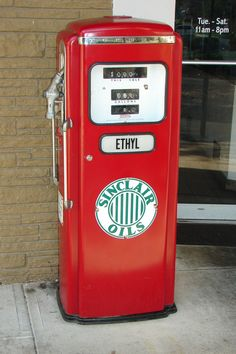 Old Time Gas Pump