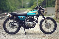 CL200 build by Dan Mantyla. Small mods really improve the balance of the bike without any drastic changes or frame chopping