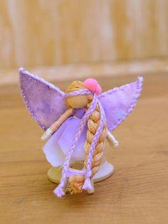 Miniature Fairy Doll miniature fairies waldorf fairy doll