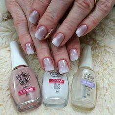 Manicure Francesa Degrade 23 Ideas For 2019 Gel French Manicure, French Manicure Designs, Manicure And Pedicure, Nail Designs, White Lace Nails, Gel Tips, Stiletto Nails, Nail Arts, Hair And Nails