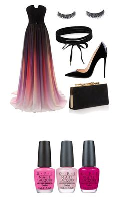 """""""Untitled #1"""" by alonafrolova00 on Polyvore featuring OPI, Jimmy Choo and Boohoo"""